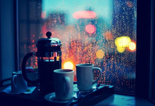 уют тепло осень вечер