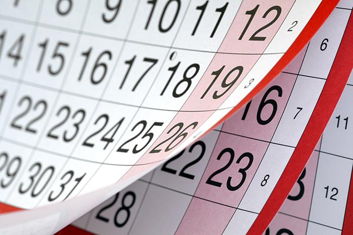 важные даты